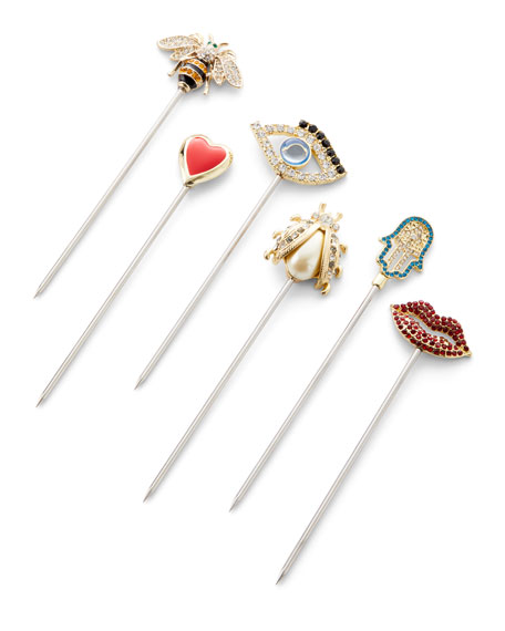 Assorted Evil Eye Cocktail Picks