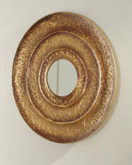 Layered Round Mirror