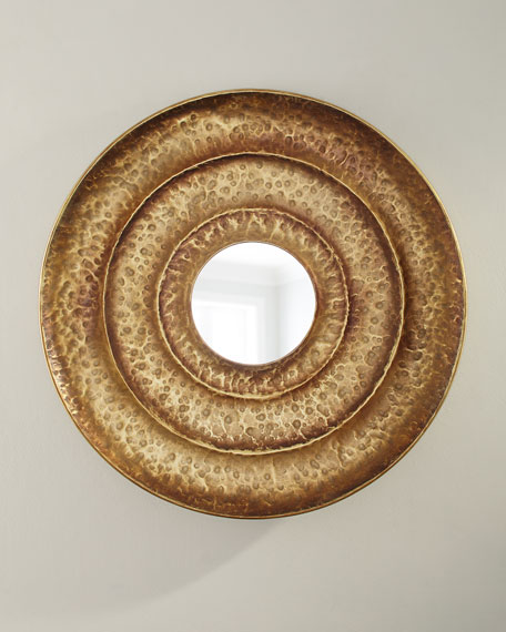 Layered Round Mirror