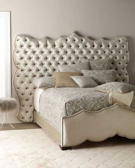 Haute House Samara Tufted Queen Bed