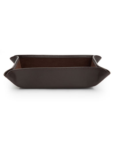 Blake Leather Coin Tray