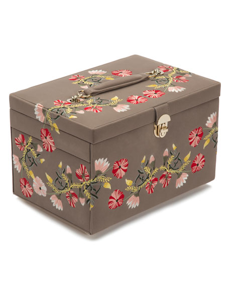 Zoe Large Jewelry Box