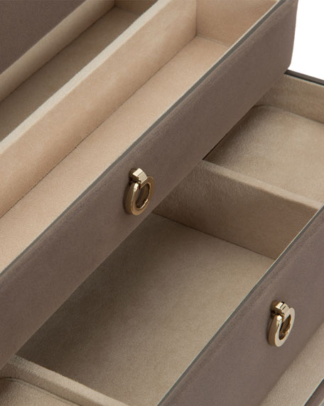 Zoe Medium Jewelry Box