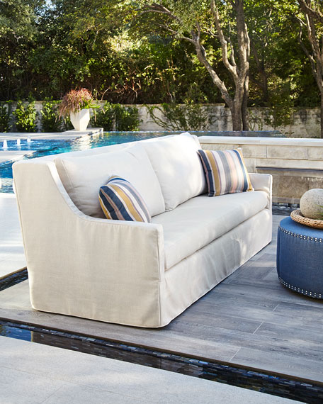 Hudson Sofa with Pillows