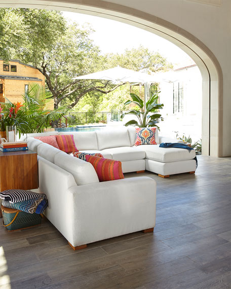 Gentry 5-Piece Chaise Sectional