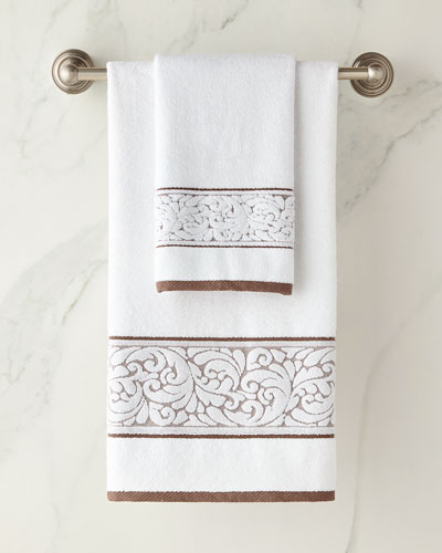 Frisee Bordure Bath Towel