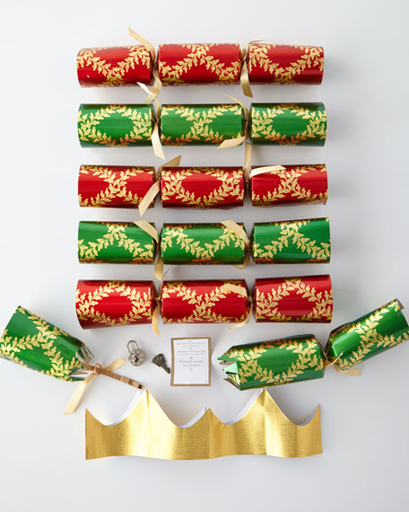 Acanthus Trellis Christmas Crackers