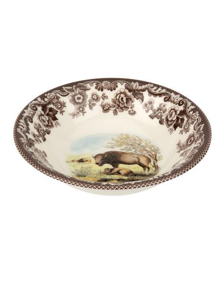 Woodland Bison Ascot Cereal Bowl