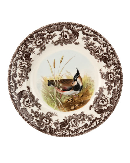 Woodland Lapwing Dinner Plate