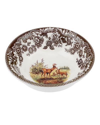 Woodland American Wildlife Mule Deer Mini Bowl