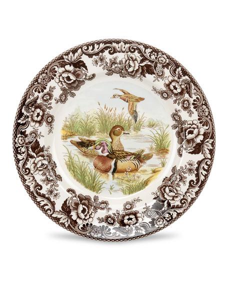 Woodland Wood Duck Salad Plate