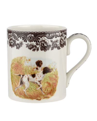 Woodland Hunting Dogs Pointer Mug