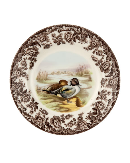 Woodland Pintail Salad Plate