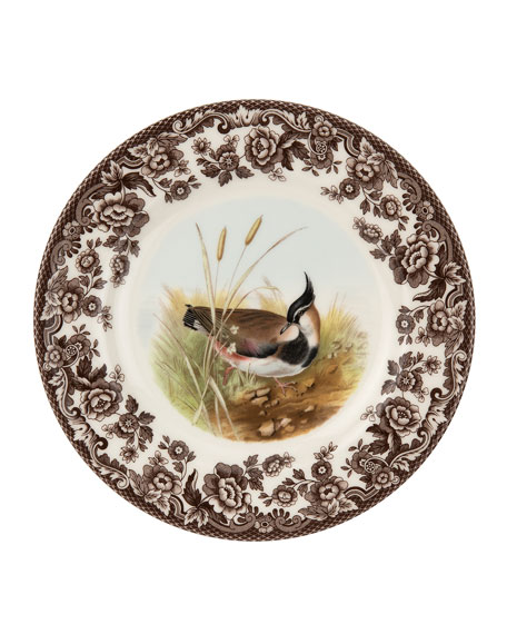 Woodland Lapwing Salad Plate
