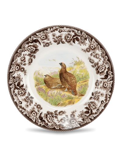 Woodland Red Grouse Salad Plate