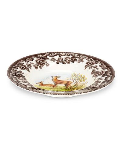 Woodland Deer Soup Plate
