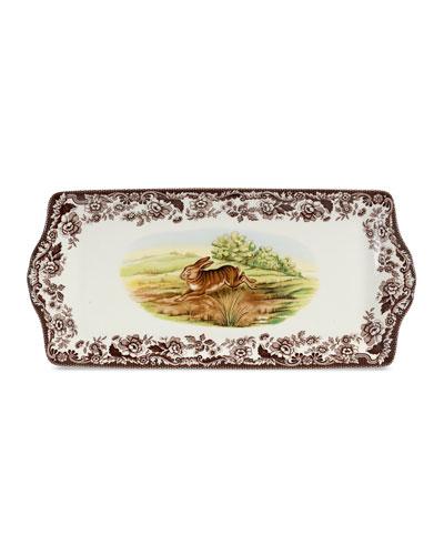 Woodland Rabbit Sandwich Tray
