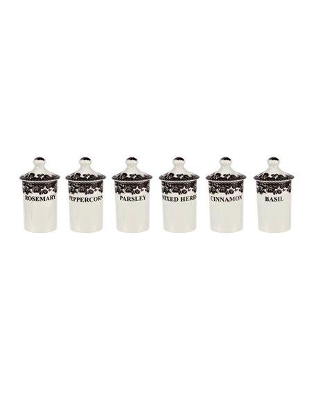 Delamere Spice Jars S6