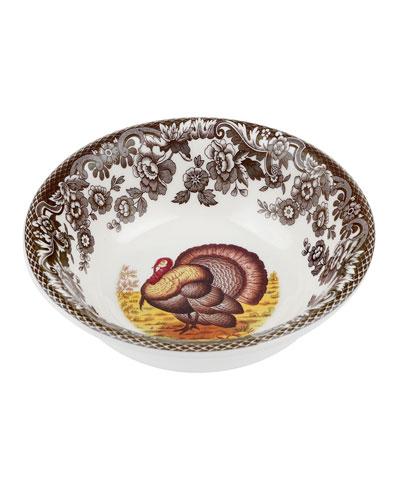 Woodland Turkey Mini Bowl