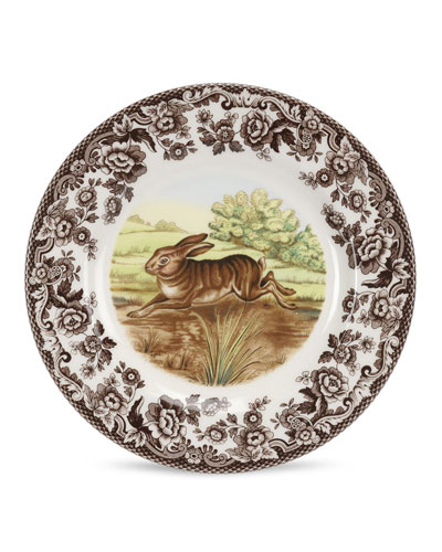 Woodland Rabbit Salad Plate