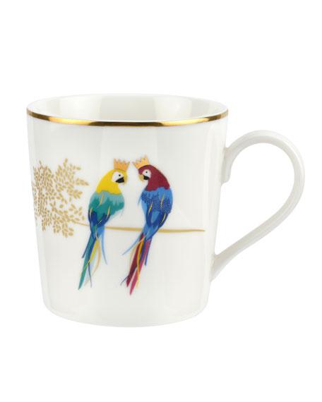 Posing Parrots Mug