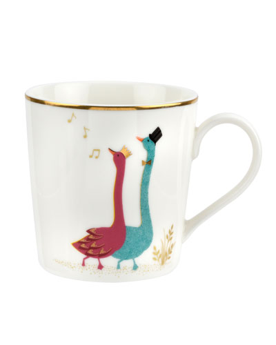 Gliding Geese Mug