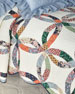 Heritage Wedding Ring Twin Quilt Set