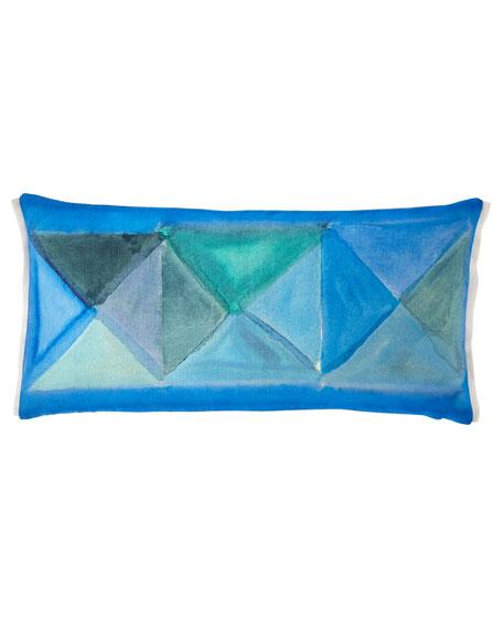 Bougival Cobalt Pillow