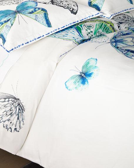 Papillons Queen Duvet Cover