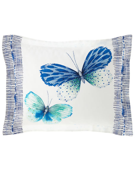 Papillons Cobalt King Sham