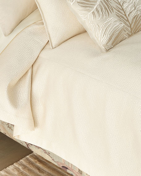 Pertila Super King Coverlet with Polivia Backing