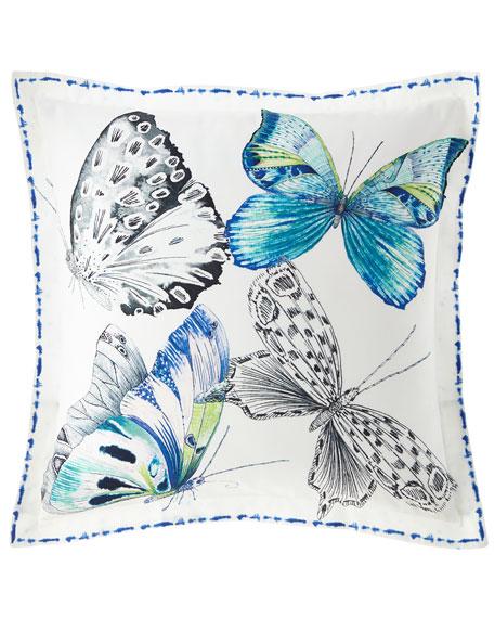 Papillons Cobalt European Sham