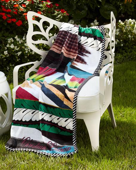 Geisha Prisme Beach Towel