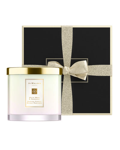 White Moss & Snowdrop Deluxe Candle