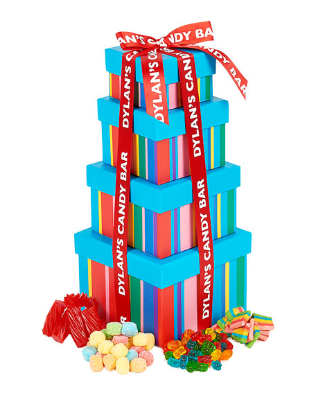 Dylan's Candy Bar Sweet Treat Gummy Candy Tower