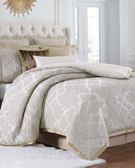 Paloma 4-Piece California King Duvet Cover Set