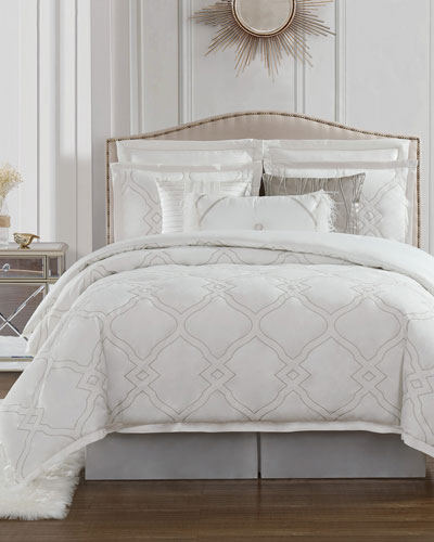 Dianti California King 4-Piece Comforter Set