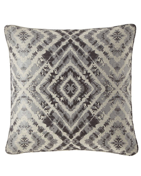 Jane Wilner Designs Plumes Diamond Decorative Pillow