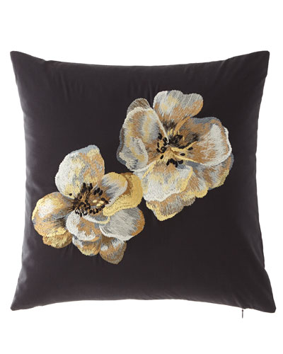 Casa Noir Square Pillow