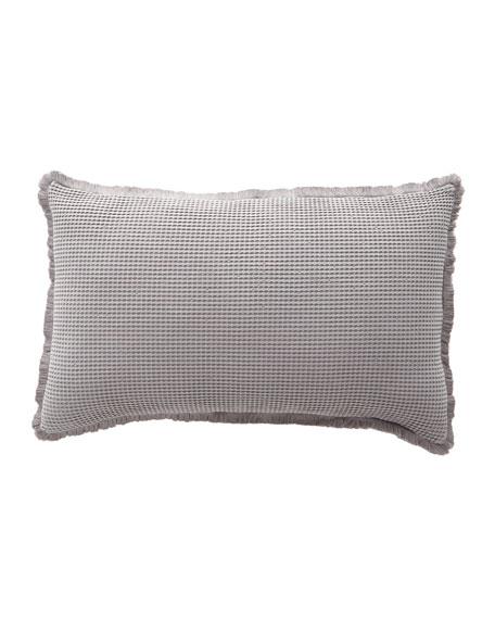 Bubble Matelasse Decorative Pillow