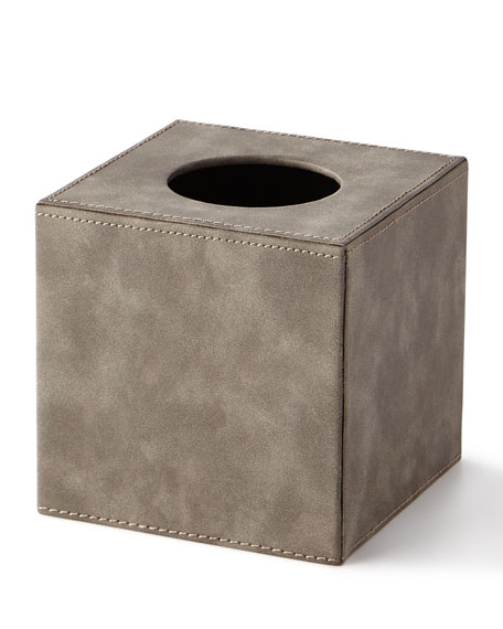 Kassatex Pelle Tissue Box Holder