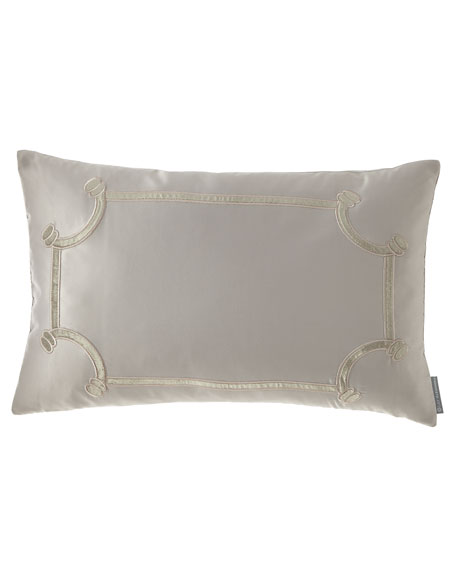 Lili Alessandra Vendome Small Oblong Pillow, 14