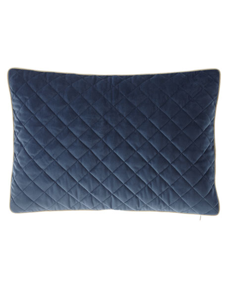 Liberty Velvet Oblong Pillow