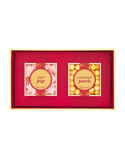 Lunar New Year 2-Piece Candy Bento Box