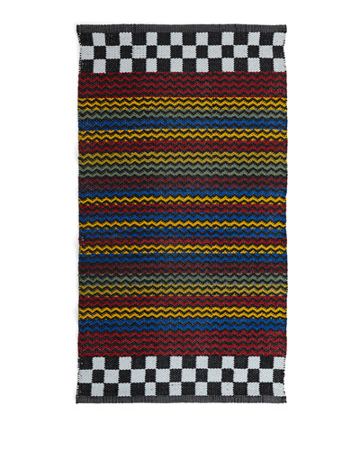 Kasbah Stripe Indoor/Outdoor Rug/Mat  2' x 3'4