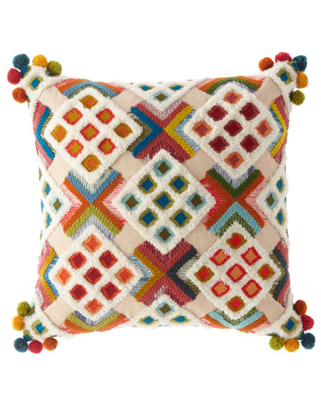 MacKenzie-Childs Bukhara Pillow