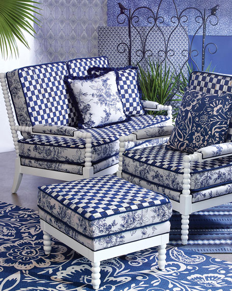 indigo villa outdoor accent