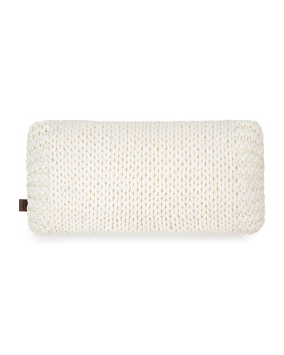 Wharf Knit Breakfast Pillow