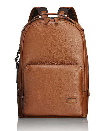 Webster Leather Backpack with Laptop Compartment
