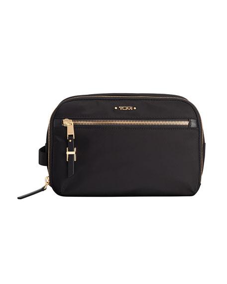 Tumi Erie Double-Zip Cosmetic Bag